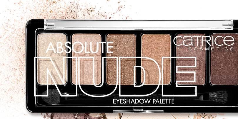 Catrice absolute nude paleta sjenila - We ♥ beauty