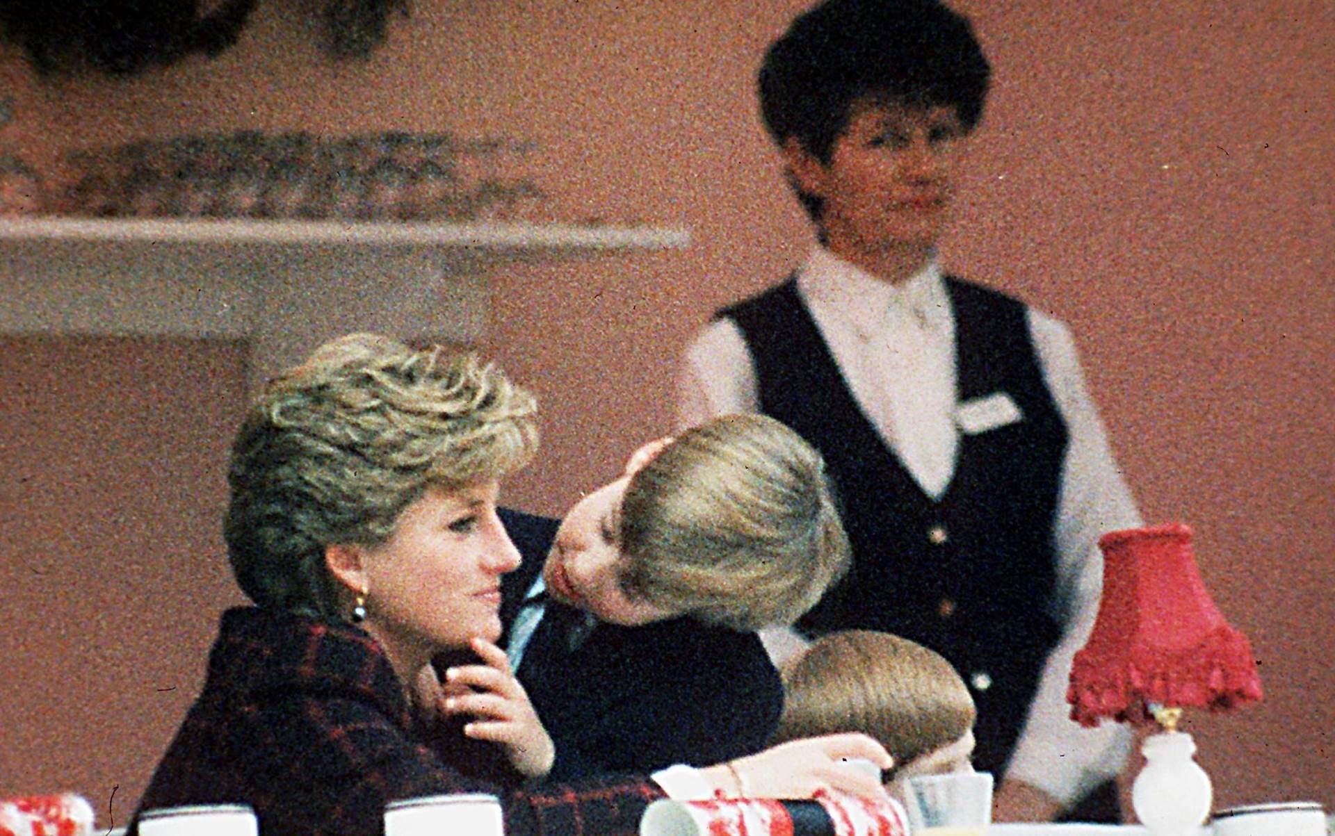 Diana, William, Kate