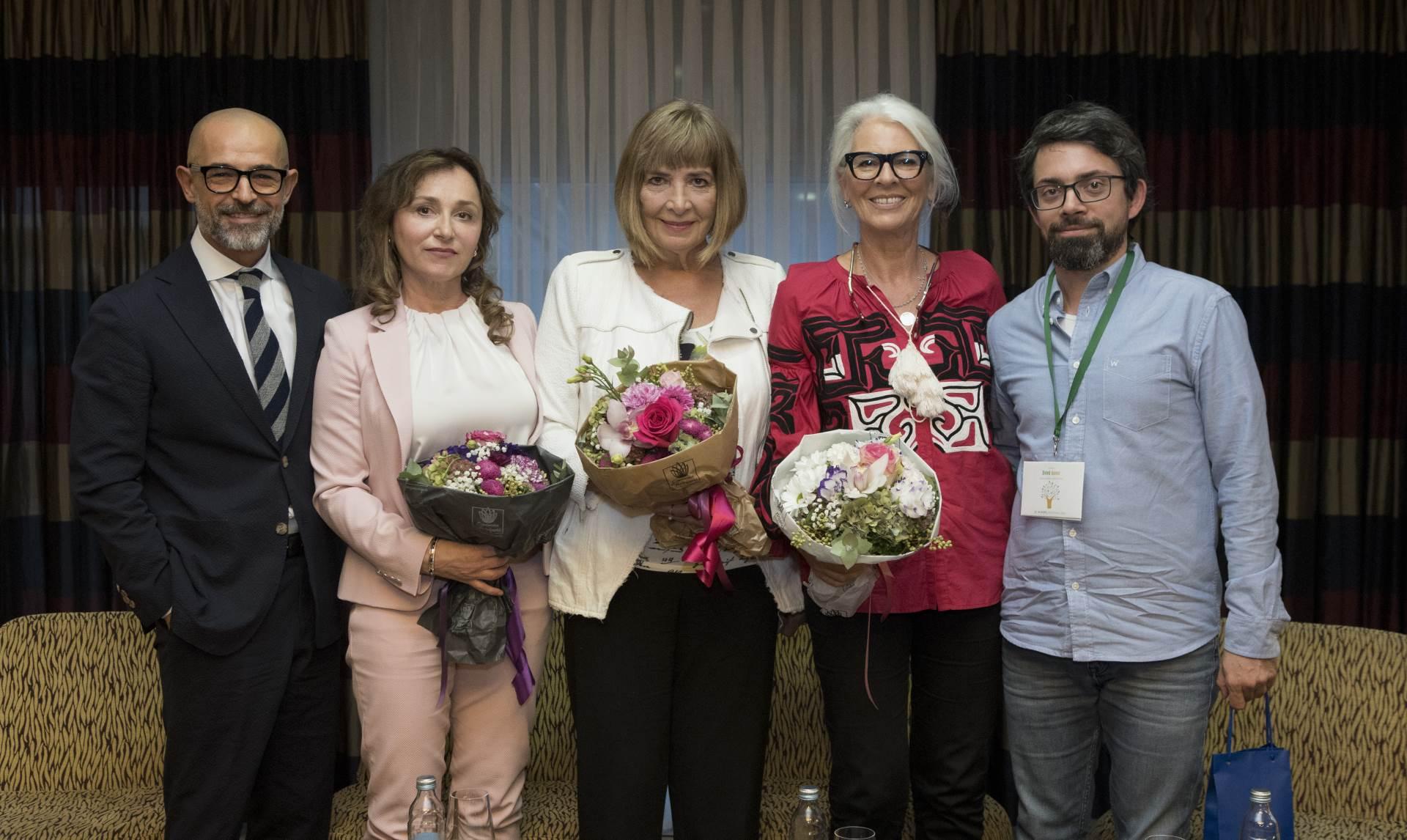 Siniša Glumičić, Sanja Gregurić, Sonja Šarunić, Zvončica Vučković i Matija Sinković