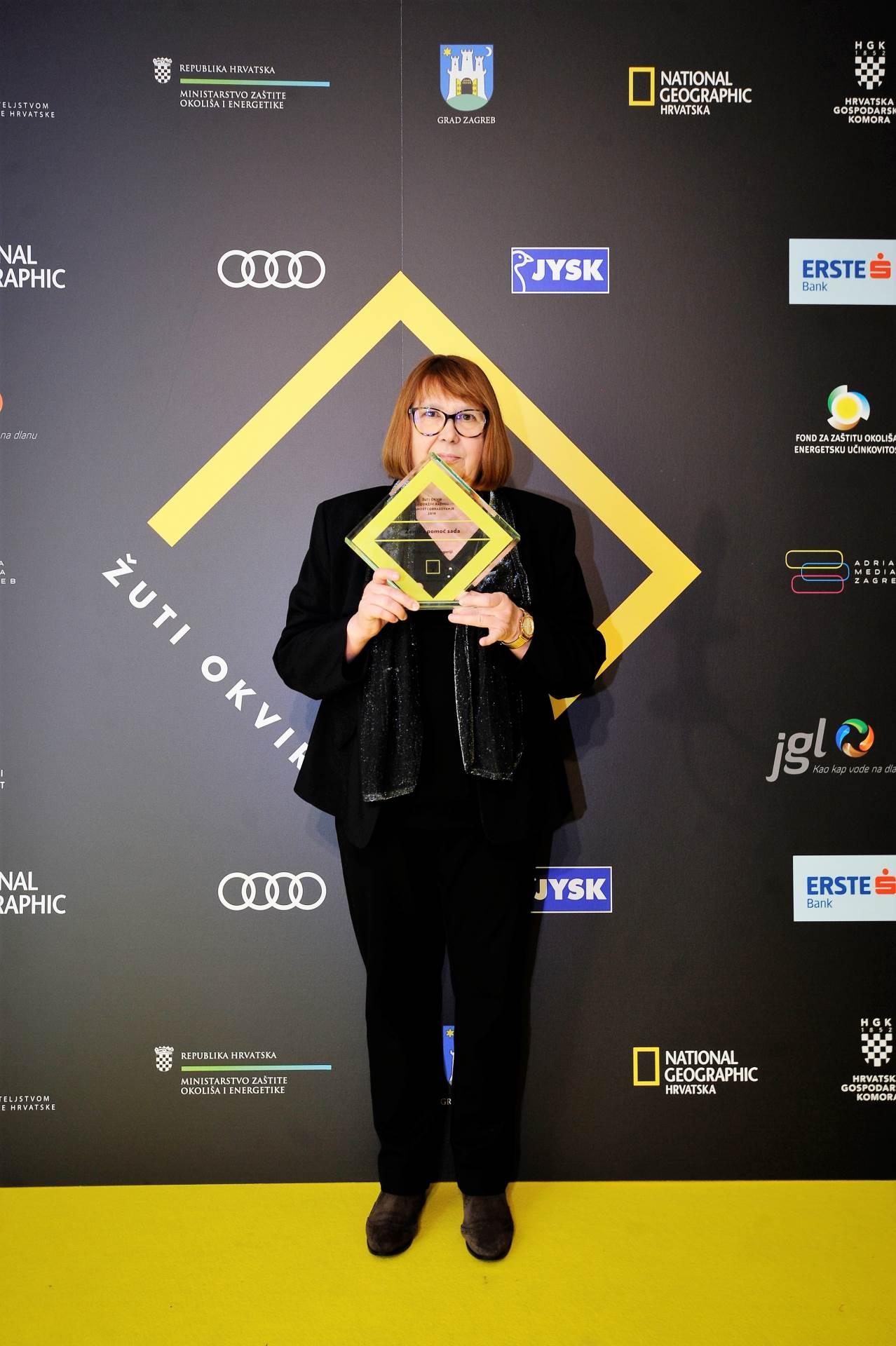 Marijana Zrinka Jegrišnik, Ženska pomoć sada