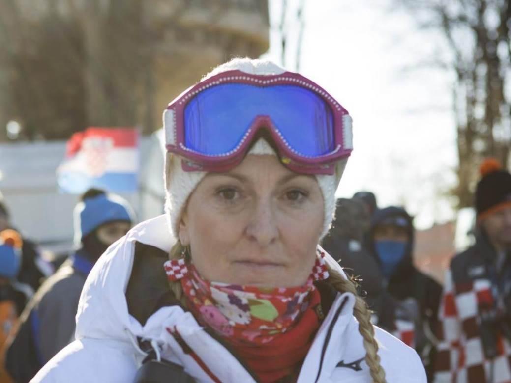 05.01.2020.,Sljeme, Zagreb - Muski slalom Audi FIS Svjetskog skijaskog kupa Snow Queen Trophy. Janica Kostelic