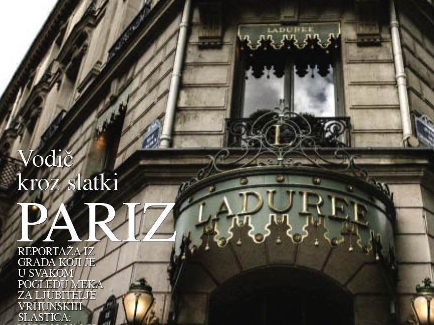 Vodič kroz slatki Pariz