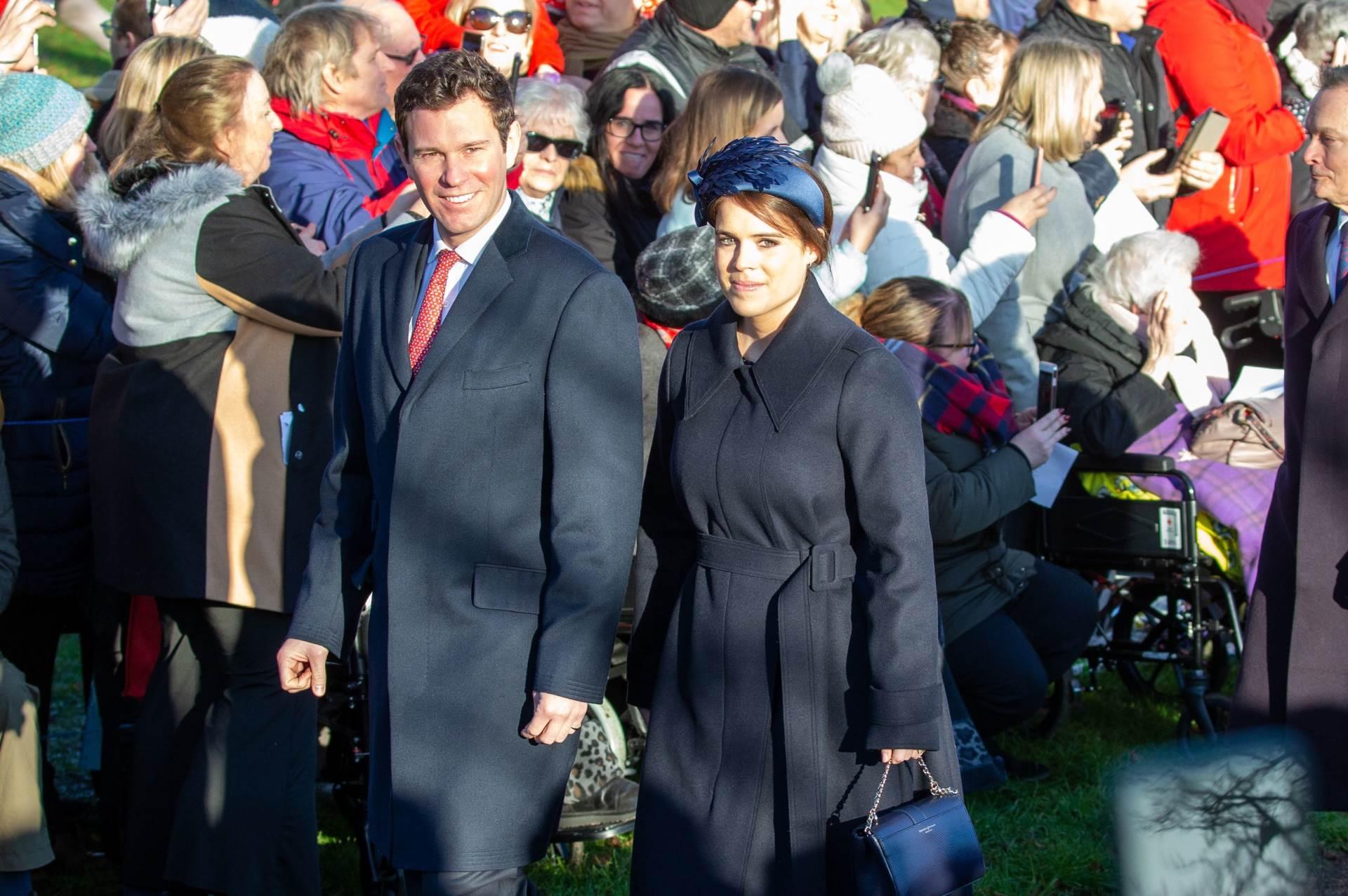 Princeza Eugenie i suprug Jack Brooksbank