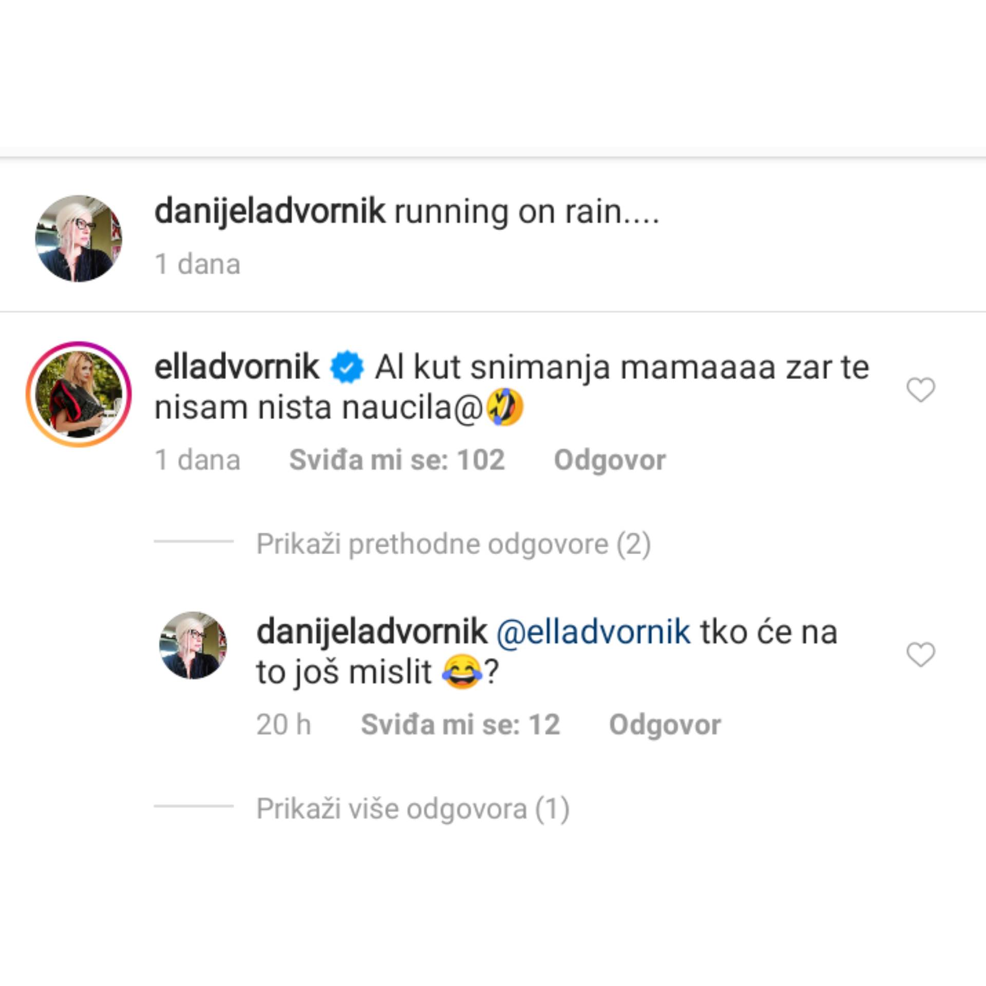 Ella Dvornik, Danijela Dvornik