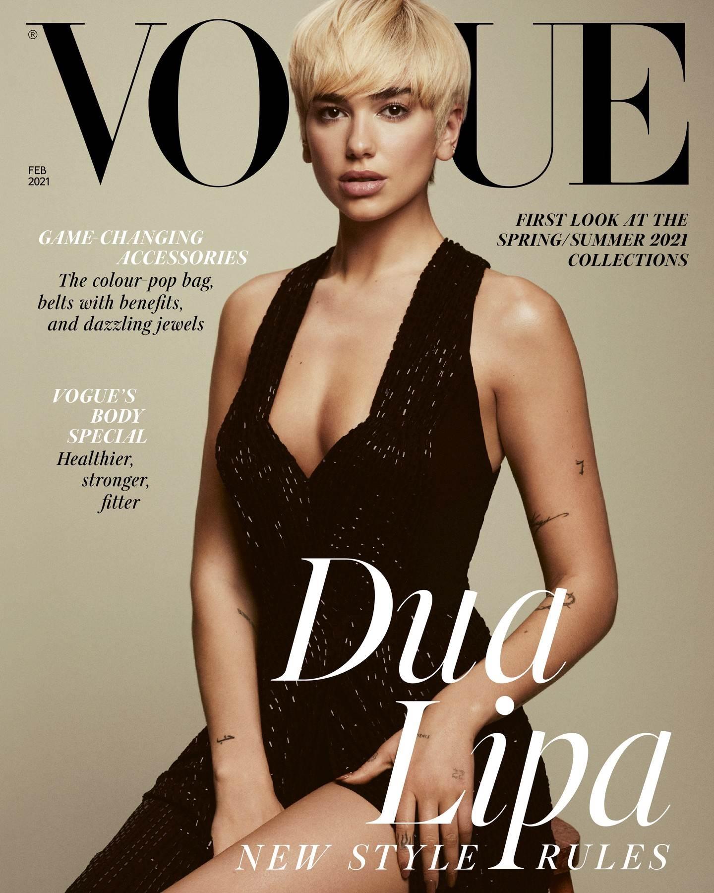 Dua Lipa, Vogue