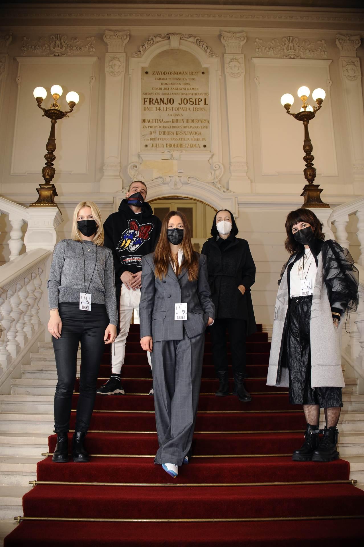 Dizajneri Maja Miletić, Lovro Krčar, Branka Donassy, Lana Puljić i Ogi Antunac