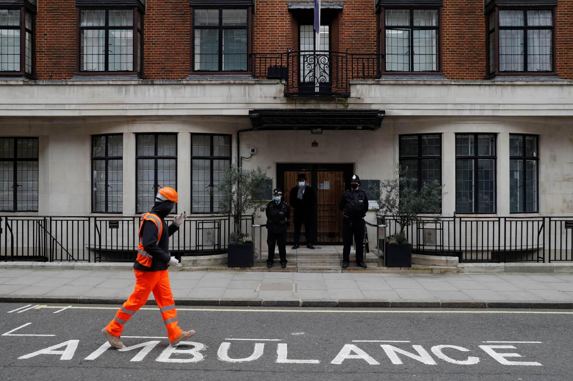 Bolnica u Londonu u kojoj se nalazi princ Philip