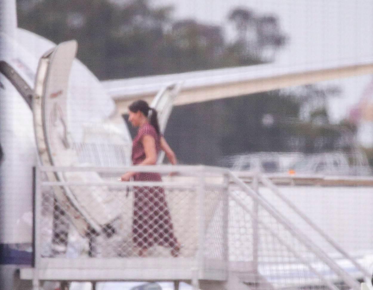Meghan snimljena za vrijeme kraljevske turneje po Australiji