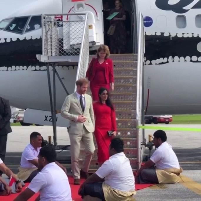 Princ Harry i Meghan Markle posjetili su Tongo