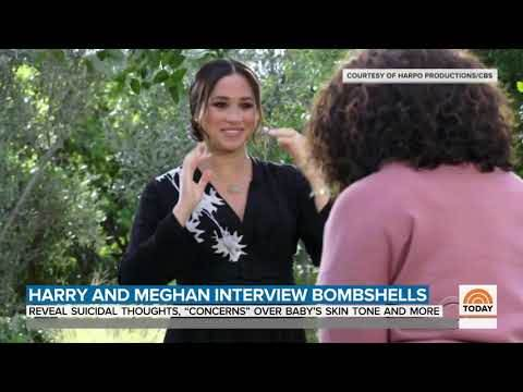 Meghan Markle kod Oprah Winfrey