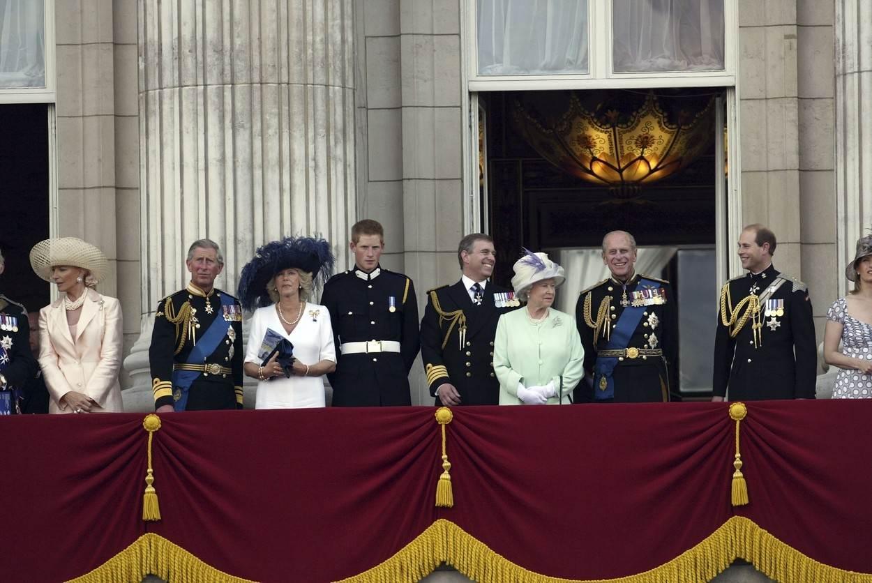 princ Philip princ Andrew