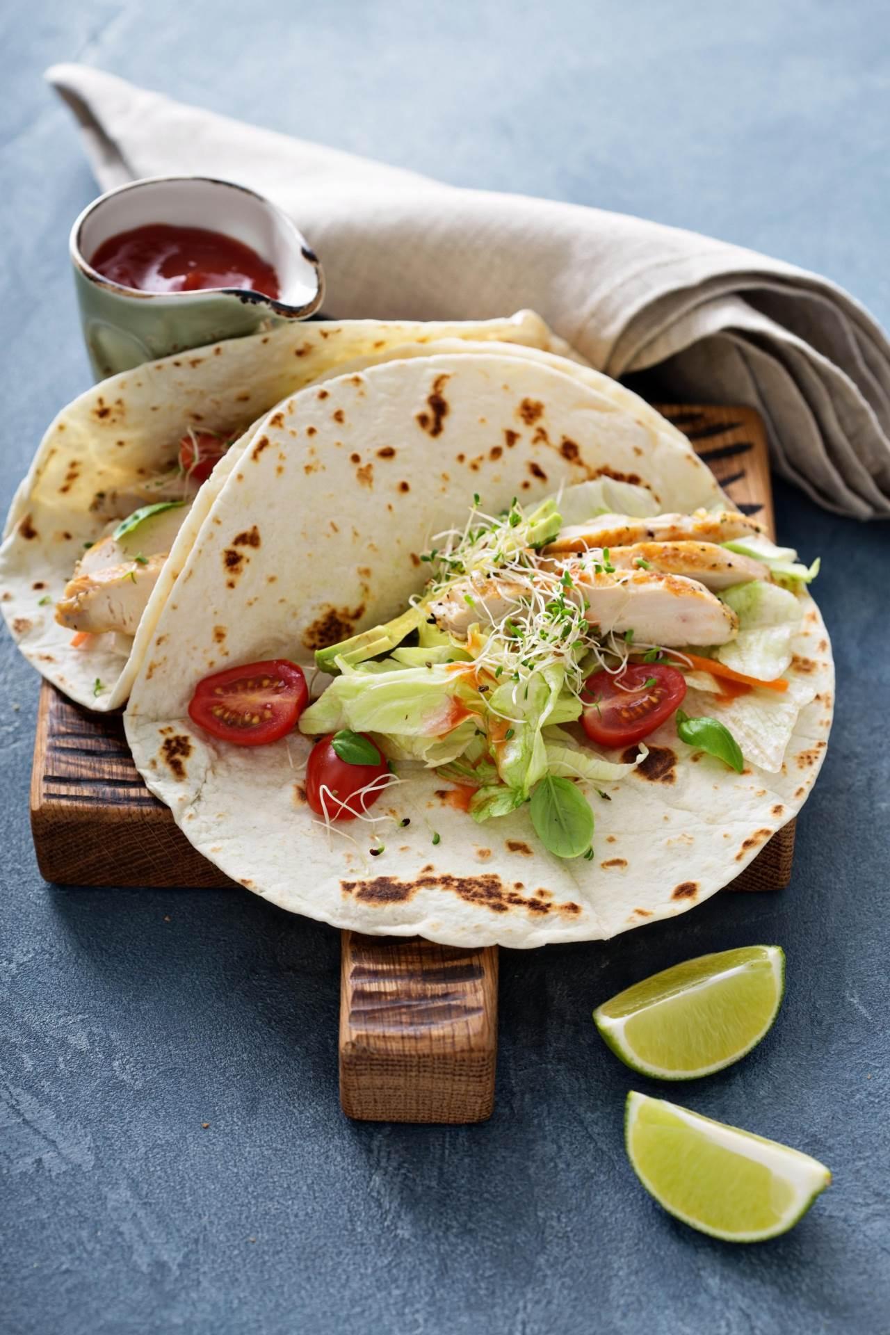 Tacosi s piletinom brz su i zdrav obrok