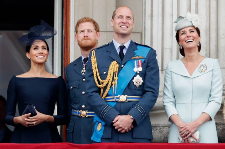 meghan markle princ harry princ william kate middleton