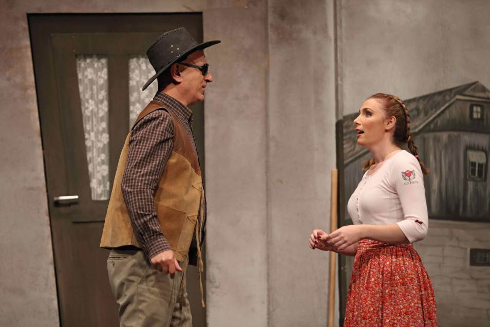 Scena iz predstave 'Klupko'