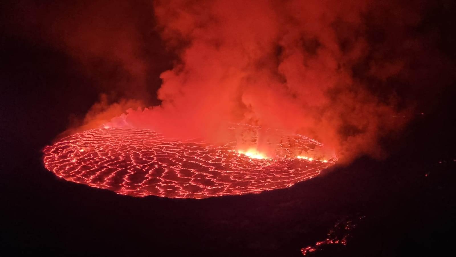 Jedan od najaktivnijih vulkana u svijetu Nyiragongo