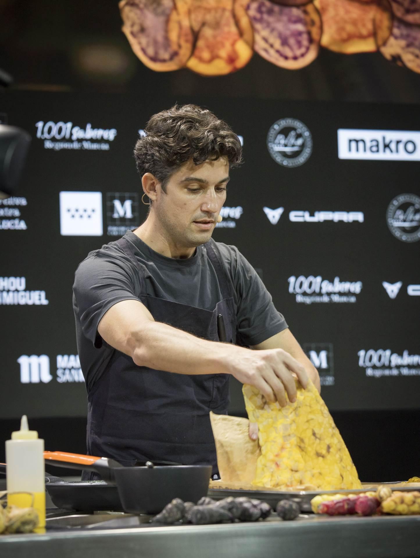 Juan Luis Martínez, vlasnik restorana Merito