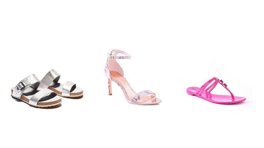 S LIJEVA NA DESNO Timberland ženske sandale, prije 649,00 kn -50% sada 324,50 kn Ted Baker ženske sandale prije 1.250,00 kn -30% sada 875,00 kn Patrizia Pepe ženske japanke, prije 660,00 kn -35% sada 429,00 kn