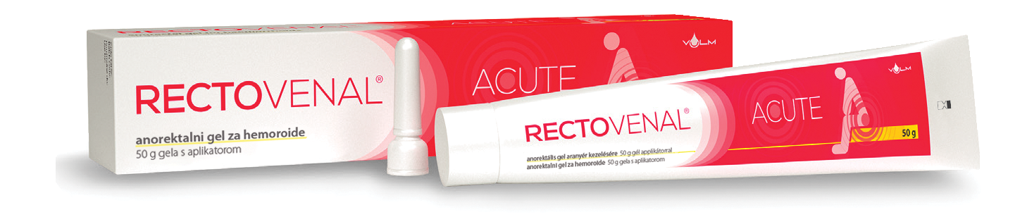 Rectovenal Acute za pomoć kod hemoroida