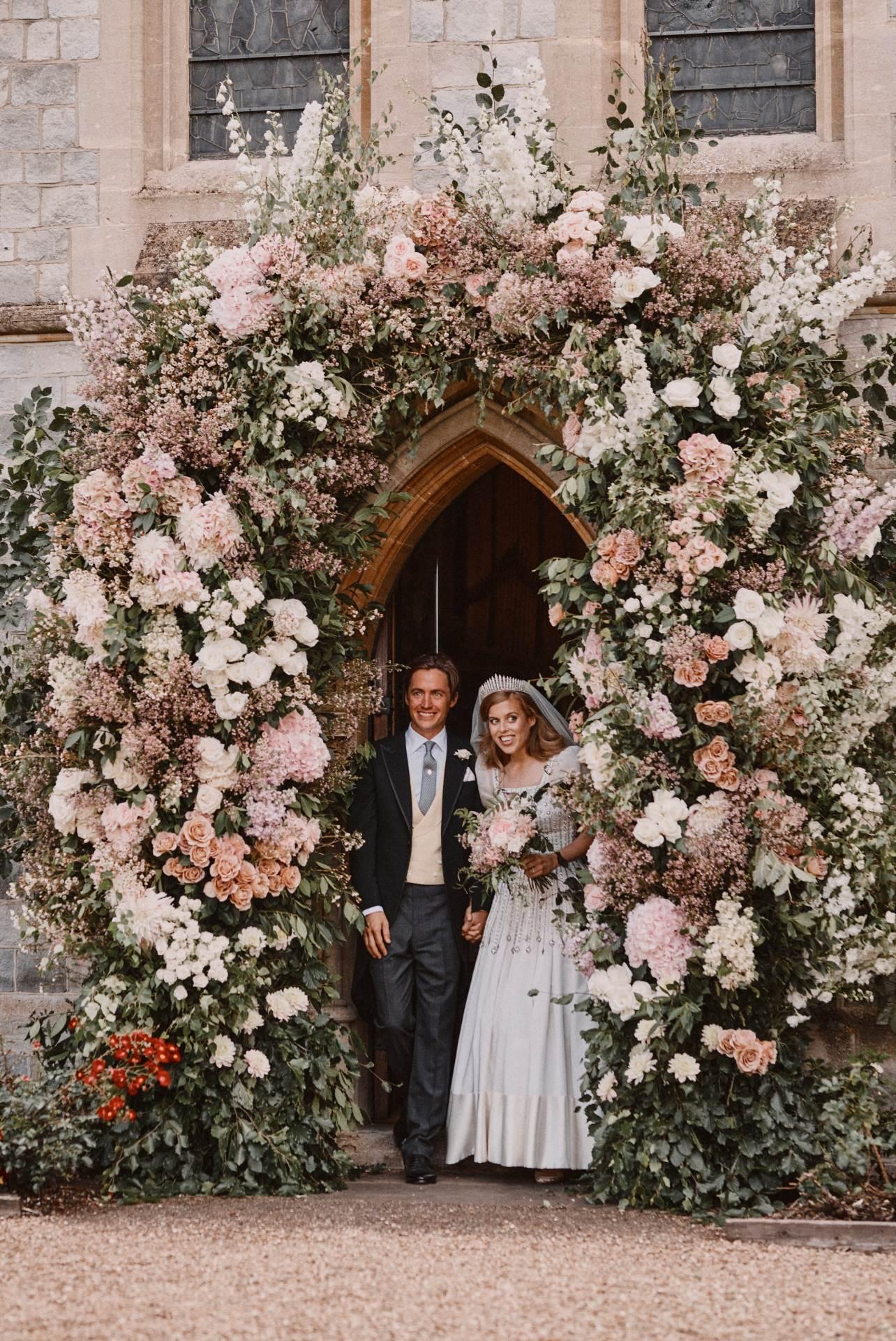 Princeza Beatrice i Edoardo Mapelli Mozzi na vjenčanju koncem prošle godine