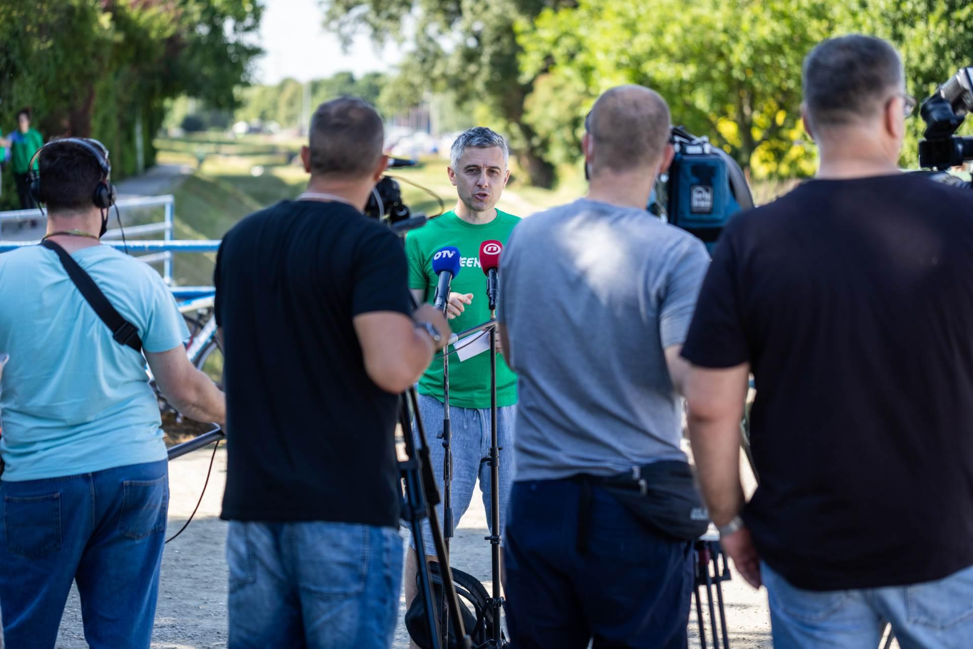 Ivan Gregov, voditelj Greenpeacove kampanje Zazeleni Grad
